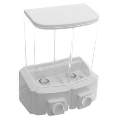 Dispensador para jabón líquido doble