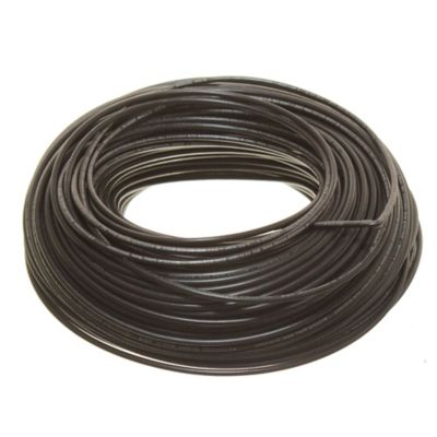 Cable unipolar 2.5 mm2 negro 100 m