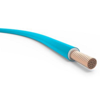 Cable unipolar 6 mm2 celeste 100 m