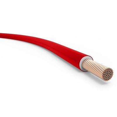 Cable unipolar 6 mm2 rojo 100 m