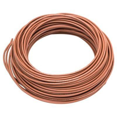 Cable unipolar 1.5 mm2 marrón 30 m