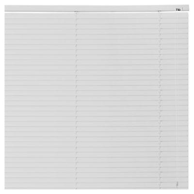 Persiana de PVC blanco 80 x 165 cm