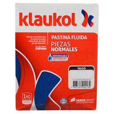 Pastina impermeable antihongo talco 1 kg