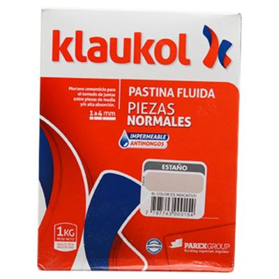 Pastina impermeable antihongo estaño 1 kg