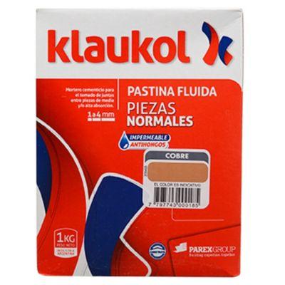 Pastina impermeable antihongo cobre 1 kg