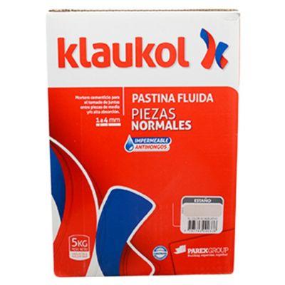 Pastina impermeable antihongo estaño 5 kg