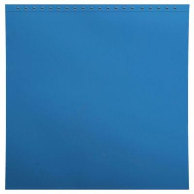 Forro para cortina de baño Eva 178 x 180 cm azul