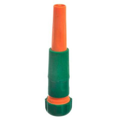 Pitón plástico 2 chorro ajustable con adaptador