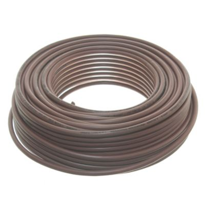 Cable unipolar 6 mm2 marrón 30 m