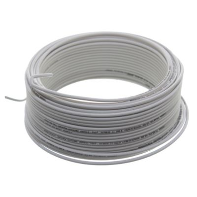 Cable unipolar 1 mm2 blanco 30 m