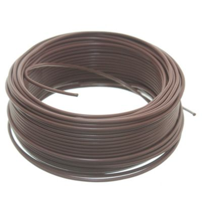 Cable unipolar 1 mm2 marrón 30 m