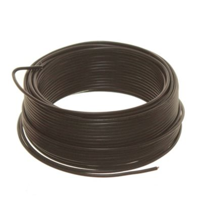 Cable unipolar 1 mm2 negro 30 m