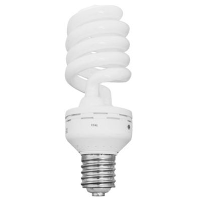 Lámpara bajo consumo helicoidal 60w fría e40