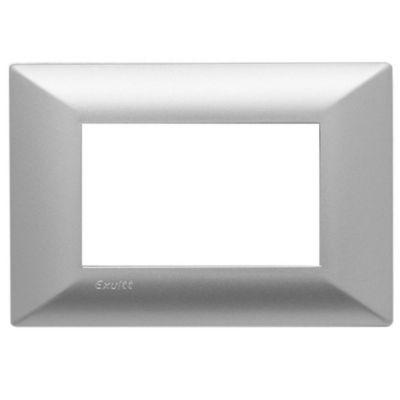 Tapa rectangular plata línea duna