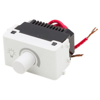 Módulo dimmer variador de tensión blanco línea duna