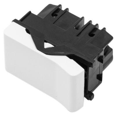 Módulo 1 interruptor de combinación línea duna blanco 10 ax