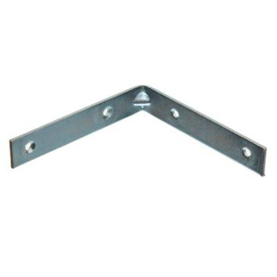Esquinero ángulo Reforzado cromo 100 mm 6 u