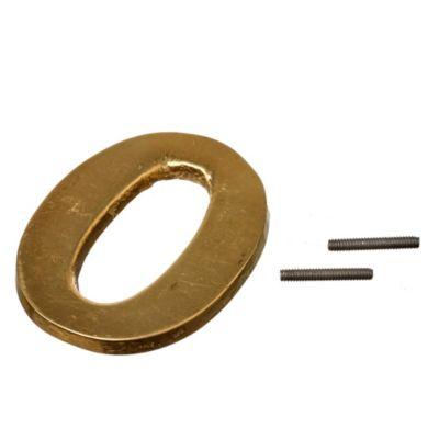 Número bronce n° 0 60 mm