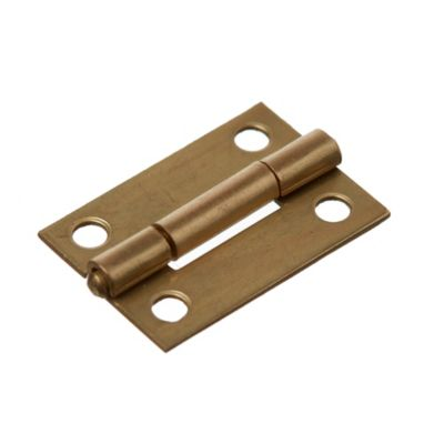 Bisagra 5005 bronce 25 mm x 12 u