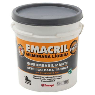 Impermeabilizante para techos fibrado emacril b...