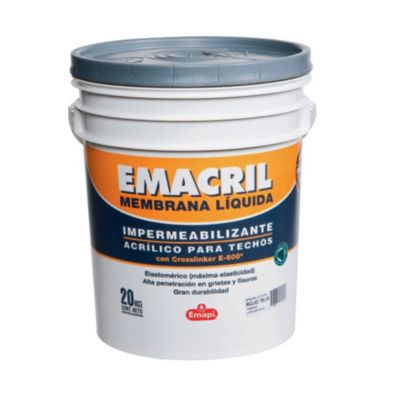 Impermeabilizante para techos emacril teja 10 kg