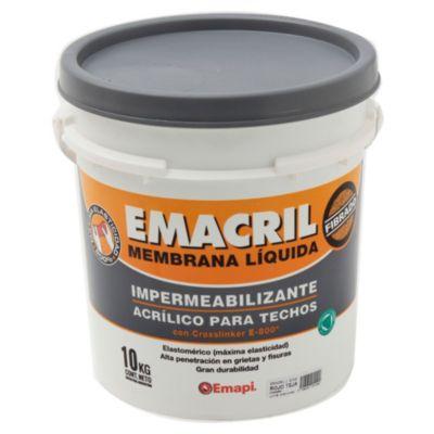 Impermeabilizante para techos fibrado emacril t...