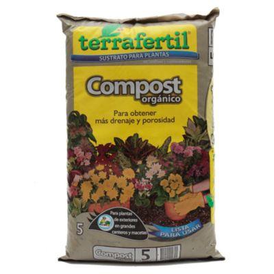Sustrato para plantas compost orgánico 5 l