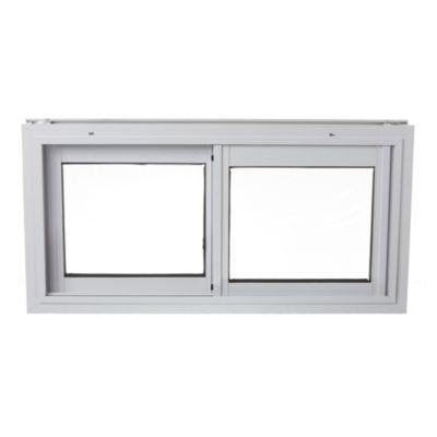 Ventana de aluminio blanca económica 80 x 40 cm