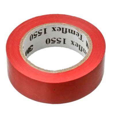 Cinta aisladora de PVC 1550 roja 10 m