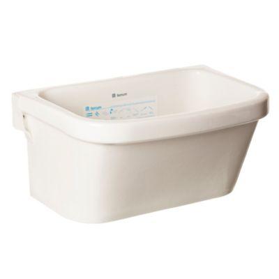 Pileta para lavadero con fregadero 49 x 33 x 27 cm