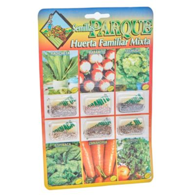 Huerta Familiar Mixta 6 Variedades
