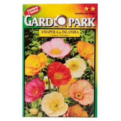 Semilla flores amapola