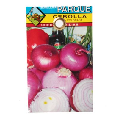 Semilla hortaliza cebolla colorada
