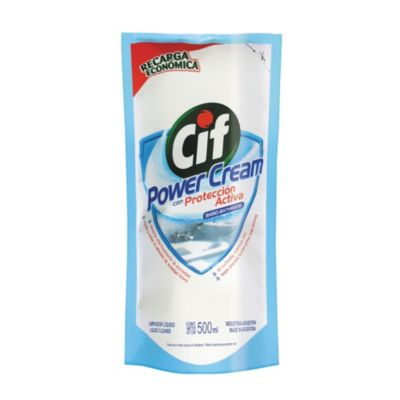 Limpiador para baño power cream 500 cc