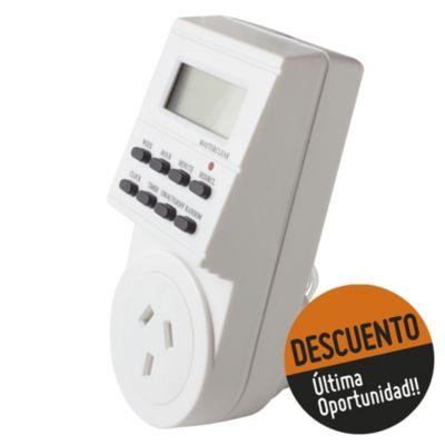 Timer digital 2.300 W con Reserva Horaria