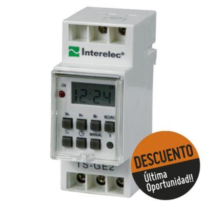 Timer digital para riel Din 3.600 W
