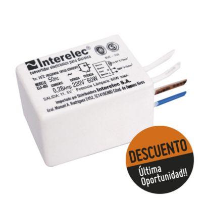 Transformador para dicroica 60 W IP65