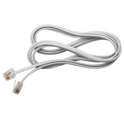 Cable prolongadorador teléfono blanco 2 m