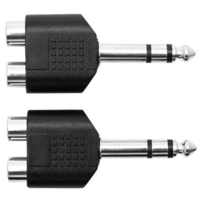 Adaptador Plug 65St-2 RCA Hembra
