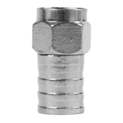 Conector f con anillo rg6 x5
