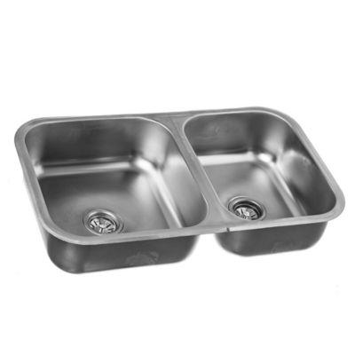 Cocinas lavadero mesadas y bachas de cocina for Llaves para lavamanos sodimac