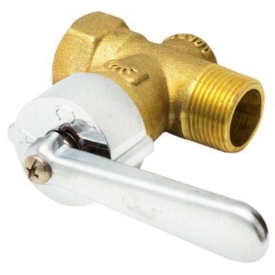 Llave para gas reforzada 3/4 mh