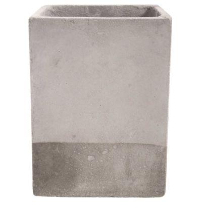 Maceta cemento cubo 15 x 20 cm