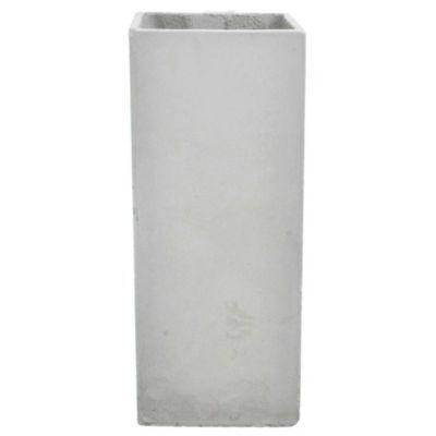 Maceta cemento cubo 20 x 50 cm