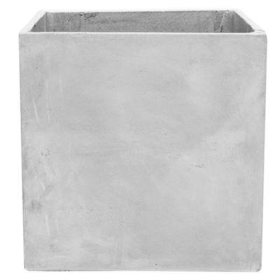 Maceta cemento cubo 50 x 50 cm