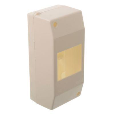 Caja plástica blanca IP40 3 módulos unipolares