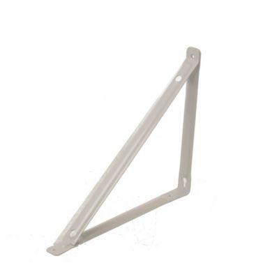 Soporte con travesaño blanco 25 x 30 cm