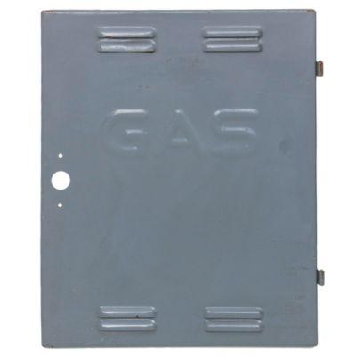Puerta para gabinete de gas de chapa 45 x 65 cm