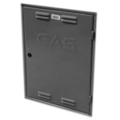 Puerta para gabinete de gas de chapa 40 x 50 cm