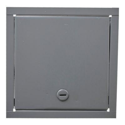 Puerta para llave de agua de chapa 20 x 20 cm